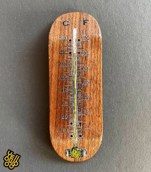 【 Yellowood 】THERMOMETER  Brown