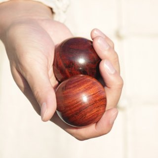 健身球 - 鉄刀木(タガヤサン)