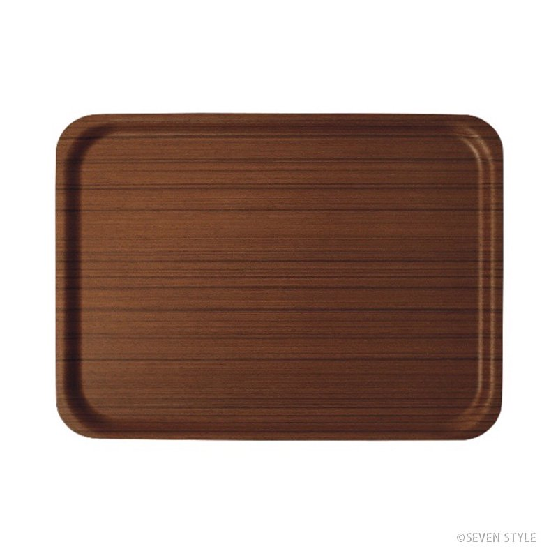 【在庫有り】サイトーウッド Tray 1004 (teak grain)