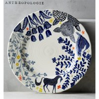 【Anthropologie】Saga Dinner Plate サガ ディナープレート