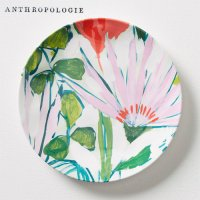 【Anthropologie】Lulie Wallace Melamine Canape Plate ルーリー・ウォレス カナッペプレート ホワイト