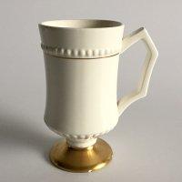 【Vintage】Gold footed mug ゴールド 脚付きマグ