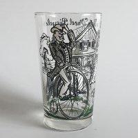 【Vintage】High Wheel Bicycle glass ハイホイール自転車 グラス