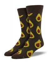 【SOCK SMITH】AVOCADO BROWN メンズソックス