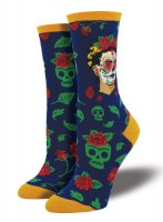 【SOCK SMITH】DIA DE LOS FRIDA SOCKS レディース フリーダ 死者の日<img class='new_mark_img2' src='//img.shop-pro.jp/img/new/icons12.gif' style='border:none;display:inline;margin:0px;padding:0px;width:auto;' />