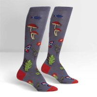 "【Sock it to me】""Encyclopedia Botanica""レディースソックス"