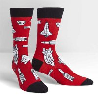 "【Sock it to me】 ""Space Craft"" メンズソックス"