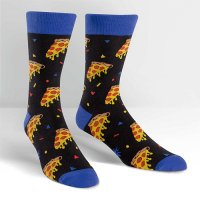 "【Sock it to me】""Pizza Party"" メンズソックス<img class='new_mark_img2' src='//img.shop-pro.jp/img/new/icons12.gif' style='border:none;display:inline;margin:0px;padding:0px;width:auto;' />"