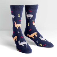 "【Sock it to me】""Llama Drama"" メンズソックス"