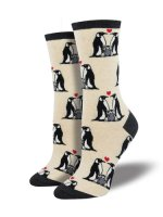 【SOCK SMITH】PENGUIN LOVE SOCKS レディースソックス <img class='new_mark_img2' src='https://img.shop-pro.jp/img/new/icons12.gif' style='border:none;display:inline;margin:0px;padding:0px;width:auto;' />