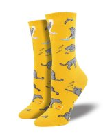 【SOCK SMITH】CATIVITIES YELLOW レディースソックス <img class='new_mark_img2' src='https://img.shop-pro.jp/img/new/icons12.gif' style='border:none;display:inline;margin:0px;padding:0px;width:auto;' />