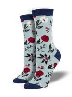 【SOCK SMITH】FLORAL MOTIF レディースソックス <img class='new_mark_img2' src='https://img.shop-pro.jp/img/new/icons12.gif' style='border:none;display:inline;margin:0px;padding:0px;width:auto;' />