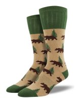 【SOCK SMITH】OUTLANDS BEAR メンズソックス<img class='new_mark_img2' src='https://img.shop-pro.jp/img/new/icons12.gif' style='border:none;display:inline;margin:0px;padding:0px;width:auto;' />
