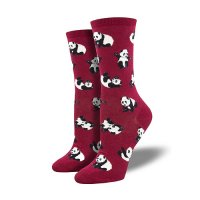 【SOCK SMITH】PANDA パンダ レディースソックス <img class='new_mark_img2' src='https://img.shop-pro.jp/img/new/icons12.gif' style='border:none;display:inline;margin:0px;padding:0px;width:auto;' />