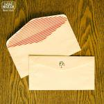 レトロな封筒3柄6枚セット