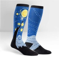 "Sock it to me ""Starry Night"" くつ下 星月夜 by Gogh"