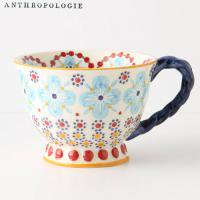 【Anthropologie】With A Twist Teacup ツイストティーカップ ターコイズ<img class='new_mark_img2' src='https://img.shop-pro.jp/img/new/icons60.gif' style='border:none;display:inline;margin:0px;padding:0px;width:auto;' />