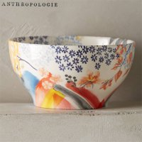 【Anthropologie】Garden Palette Bowl  ガーデンパレットボウル