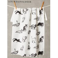 【Anthropologie】Cat Commands Dishtowel キャット キッチンタオル<img class='new_mark_img2' src='//img.shop-pro.jp/img/new/icons60.gif' style='border:none;display:inline;margin:0px;padding:0px;width:auto;' />