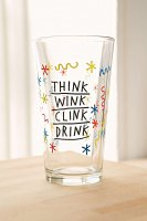 【Urban Outfitters】 Clink Wink Pint  Glass  クリンクウィンクパイントグラス