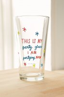 【Urban Outfitters】 Party Pint Glass  パーティーパイントグラス