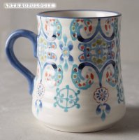 【Anthropologie】Swirled Symmetry Mug シンメトリーマグ