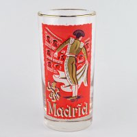 【American Vintage】Cities Glass シティグラス Madrid マドリード from Los Angeles