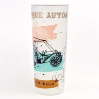 【American Vintage】Antique auto glass アンティークカーグラス Buick from Los Angeles