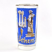【American Vintage】Cities Glass シティグラス  Athene アテネ from Los Angeles