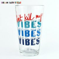 【Urban Outfitters】  Pint Glass  パイントグラス VIBES