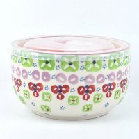 【Urban Outfitters】 Ceramic Food Storage Bowl  セラミックフタ付き保存容器 グリーン