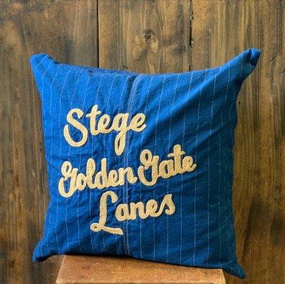 Indigo Stripe Cushion cover