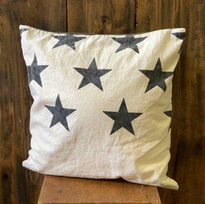STAR  Cushion Cover / WH