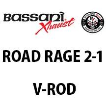 バッサニ Road Rage 2-1 マフラー V-ROD