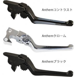 PSR ピーエスアール アジャスタブルレバーセット Anthemブラック 2014-16ツーリング 油圧クラッチ車 0610-1705