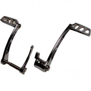 ミスフィッツ インダストリー AMBUSH フットコントロール ブラック 08-10 ツーリング 1621-0713