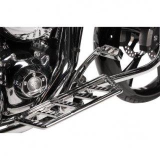 ミスフィッツ インダストリー AMBUSH フットコントロール クローム 97-07 ツーリング 1621-0710