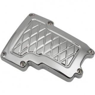 EDDIE TROTTA トランスミッショントップカバー Platinum cut クローム ツインカム 6速ミッション用 1105-0178