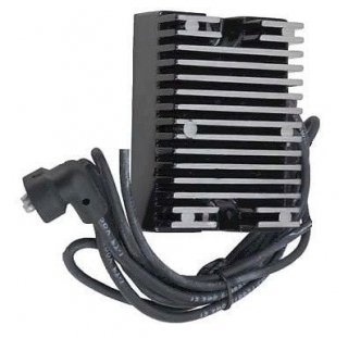 アクセル SOLID STATE レギュレーター ブラック 89-99 EVOビッグツイン 201122B