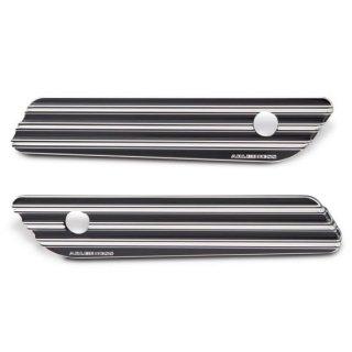 アレンネス NESS-TECH サドルバッグ ヒンジカバー 10-Gauge ブラック 2014-20 ツーリング 3501-1214