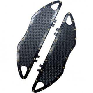 カールブローハード BOMBER フロアボード ドライバー ブラック 84-20ツーリング 1621-0745