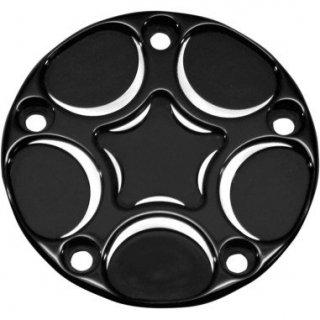 カールブローハード Spiro シリーズ ポイントカバー ブラック 1999-2017 ツインカム 0940-1503