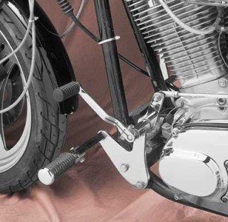 カスタムクローム製 フォワードコントロールキット クローム 82-94 FXR 17550