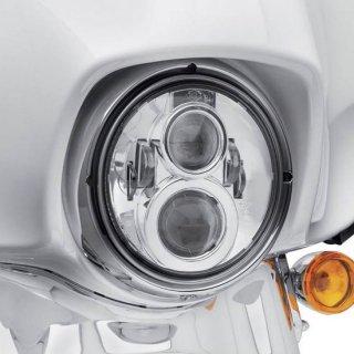 ハーレー純正 デイメーカー プロジェクター LEDヘッドランプ 7インチ クローム 94-13ツーリング/12-16FLD 67700264