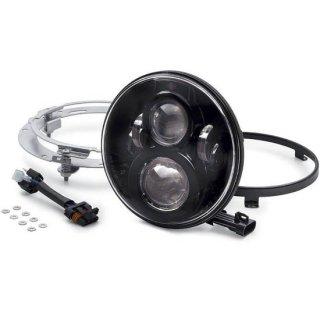 ハーレー純正 デイメーカー プロジェクター LEDヘッドランプ 7インチ ブラック 94-13ツーリング/12-16FLD 67700266