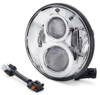 ハーレー純正 デイメーカー プロジェクター LEDヘッドランプ 7インチ クローム 91-17FLソフテイル/14-19ツーリング 67700265