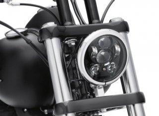 ハーレー純正 デイメーカー プロジェクター LEDヘッドランプ 5-3/4インチ ブラック マルチ 67700145A