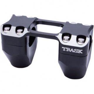 トラスクパフォーマンス ASSAULT ライザーとクランプ 2インチライズ リバースカット 1.25インチ径ハンドル用 0602-0813