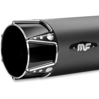マグナフロー SNIPER 4インチ スリップオンマフラー ブラック/グロスブラック 2017-19 ツーリング 1801-1121