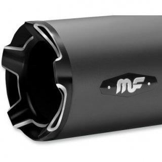 マグナフロー IMPACT 4.5インチ スリップオンマフラー ブラック/グロスブラック 2017-19 ツーリング 1801-1127